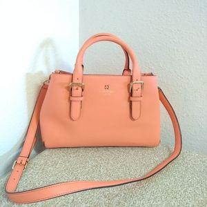 Kate Spade NY Peach Saffiano Leather Bag